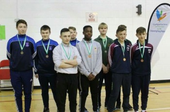 Indoor Rowing Schools Blitz Boys Individual Event Medal Winners