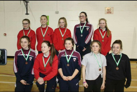 Indoor Rowing Schools Blitz Girls Individual Event Medal Winners