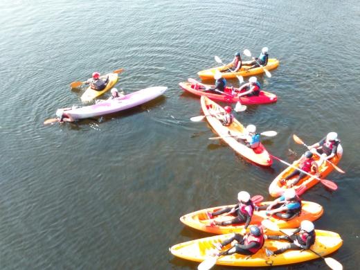 Kayaking Camp 1